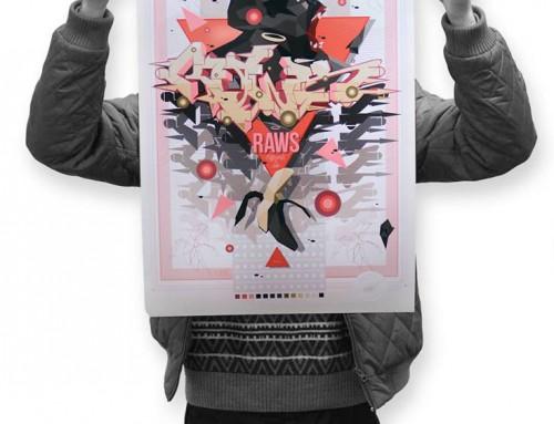 Gorilla Style – Print by Raws
