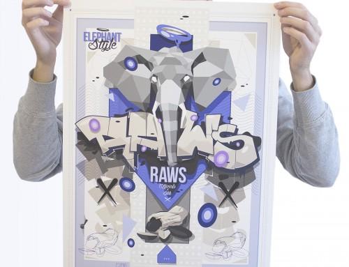 Elephant Style – Print by Raws