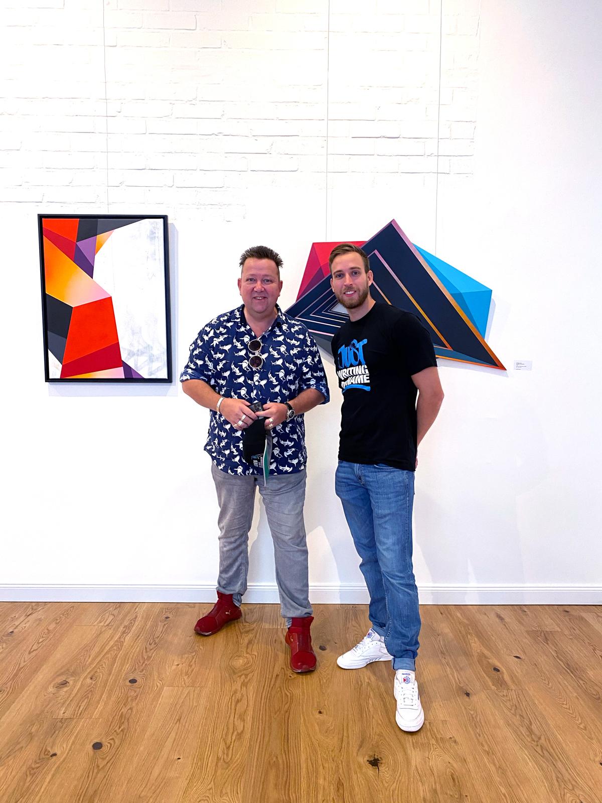 Sebastian Krumbiegel and Kai Raws Imhof